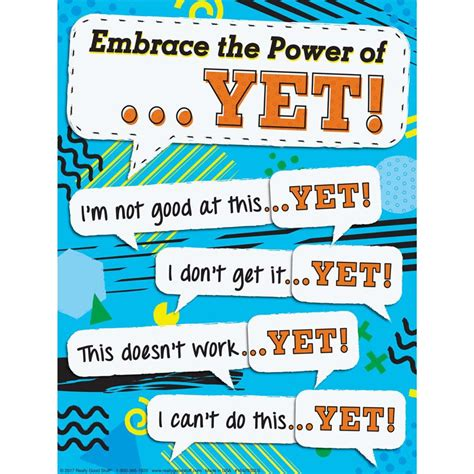 i can t do that yet growth mindset books growth mindset power of yet downloadable poster