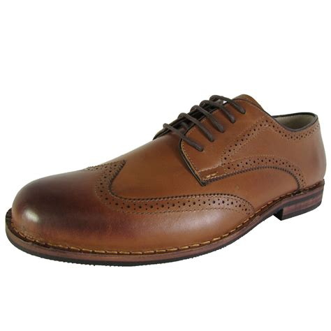 steve madden mens lyford wingtip oxford dress shoes ebay