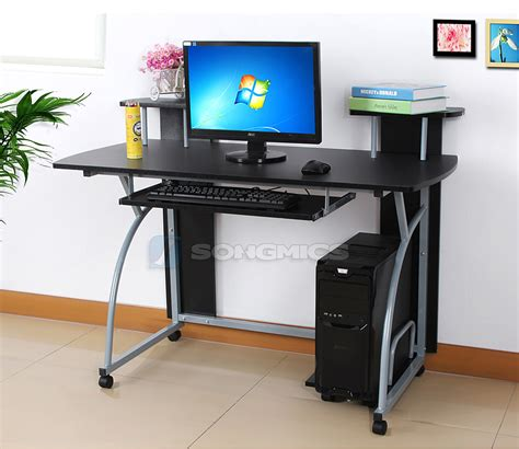 Laptop Desk Station Computer Table Desk Home Office Study Work Station Laptop Table Desk Lcd812b Ebay