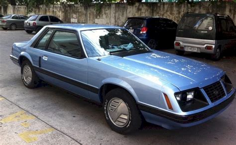 blue book used cars values 1983 ford mustang security system blue 1983 ford mustang ghia coupe mustangattitude com photo detail