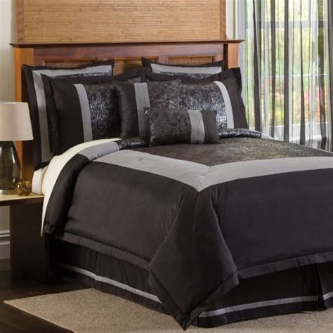 Black And Silver Comforter Sets by Black And Silver Bedding