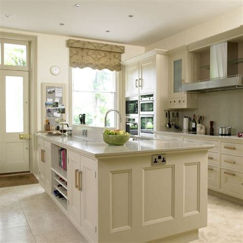 cream kitchen designs beige kitchen with grey blind kitchens kitchen ideas