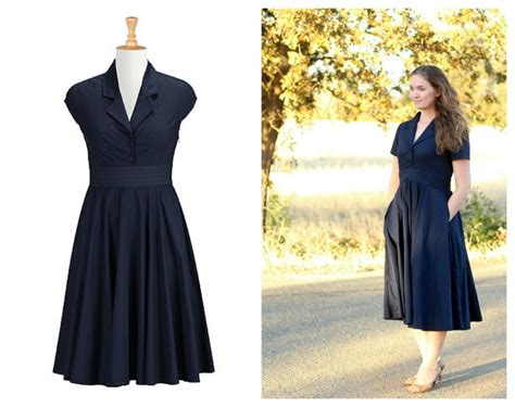 Eshakti Giveaway - retro poplin dress gluesticks