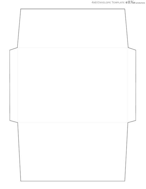 Envelope Template For 4x6 Card by Envelope Template