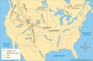 oregon trail map with rivers map center 5th grade social studies and science