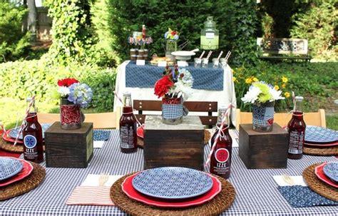 Backyard Bbq Table Centerpieces Coole Gartenparty Ideen Freshouse