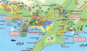 Location of the derrynane hotel map transport options amp directions