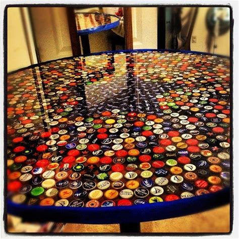 beer cap bar top 887 best images about bottle cap crafts on pinterest pop