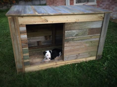 pallet dog house plans free easy large dog house plans