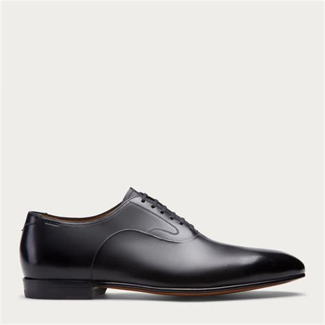 bally oxford shoes bally garrett s leather oxford shoe in black in black