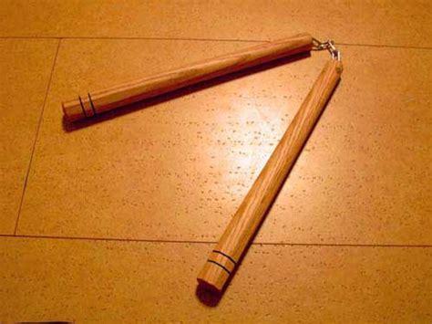 Handmade Nunchaku - all made push up stand japanese karate carpenter ebay