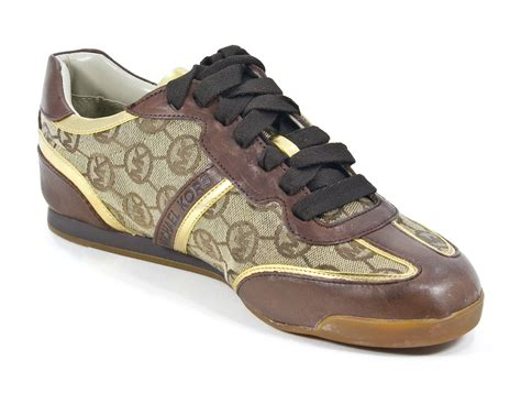 michael kors athletic shoes michael kors logo signature monogram trainer tennis shoe