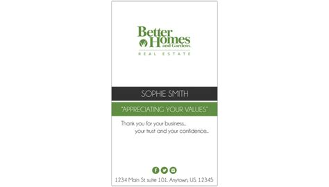 Bhg Cards Templates by Better Homes And Gardens Business Cards 30 Templates