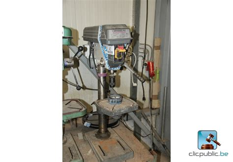 bench drill cl bench drill optimum b23pro for sale on clicpublic be
