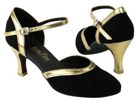 9621 136 black nubuck gold leather trim