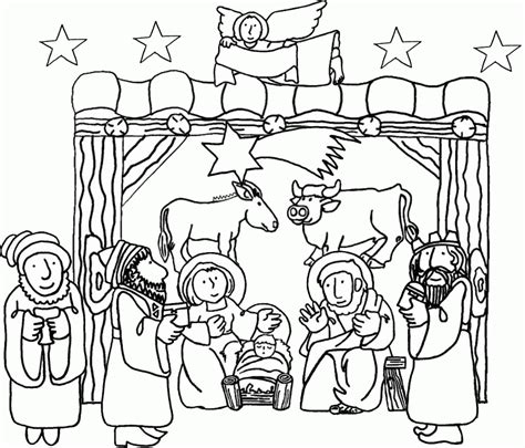 lds coloring pages jesus birth 9 pics of birth of jesus christ lds coloring pages baby