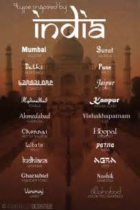 typography theme 20 fonts inspired by india by wanderlust designer font
