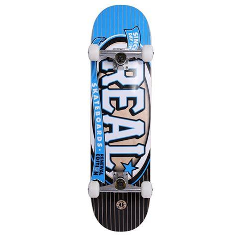 complete skateboard decks real skateboards knockout 8 25 quot complete skateboard blue