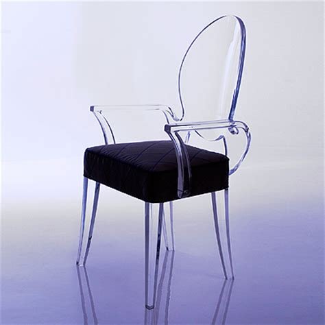 Acrylic Ghost Chair by Clear Transparent Ghost Chairs