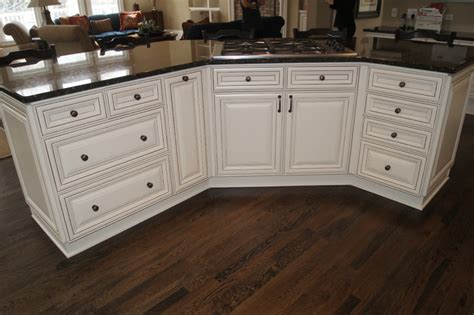 Antique Finish Kitchen Cabinets Ccff Kitchen Cabinet Finishes Traditional Kitchen Atlanta By Creative Cabinets And Faux