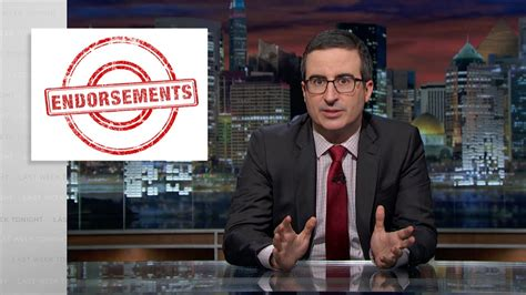 Endorsements Thanks Or No Thanks by Endorsements Web Exclusive Last Week Tonight With