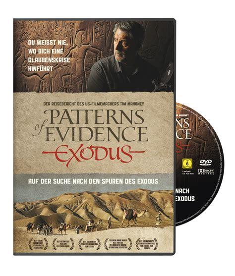 pattern of evidence dvd exodus auszug aus 196 gypten inner cube online shop