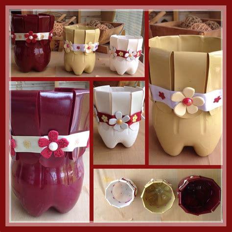 decorar macetas plasticas macetas macetero o tiesto de botellas de plastico