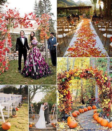 autumn wedding colors 2014   Tulle & Chantilly Wedding Blog