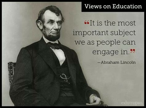 what was abraham lincoln education abraham lincoln s view on education education