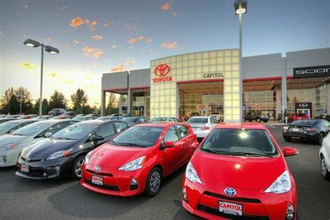 Capitol Toyota Salem Oregon Capitol Toyota Salem Or 97301 Car Dealership And Auto