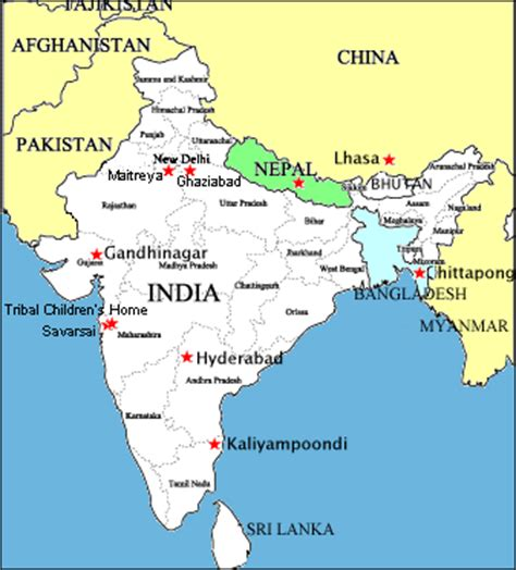 ghaziabad in india map child international our homes