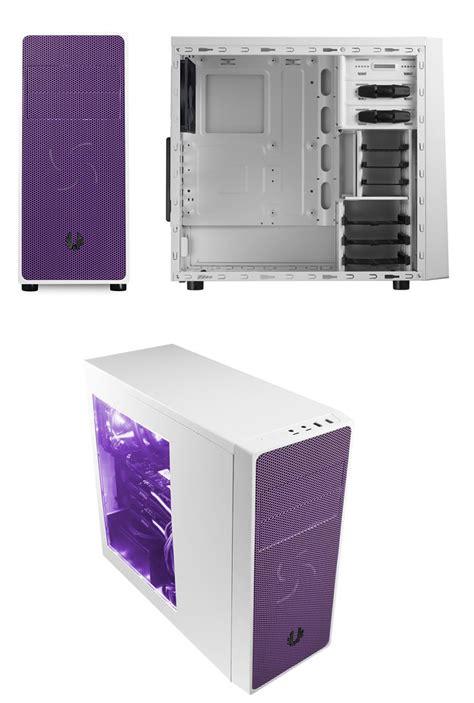 Murah Bitfenix Neos Window White Purple bitfenix neos mid tower with window white purple bfc neo 100 wwwkp rp pc gear