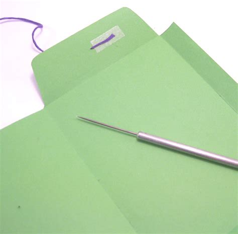 How To Make String On Paper - craft tutorial how to make a string tie envelope