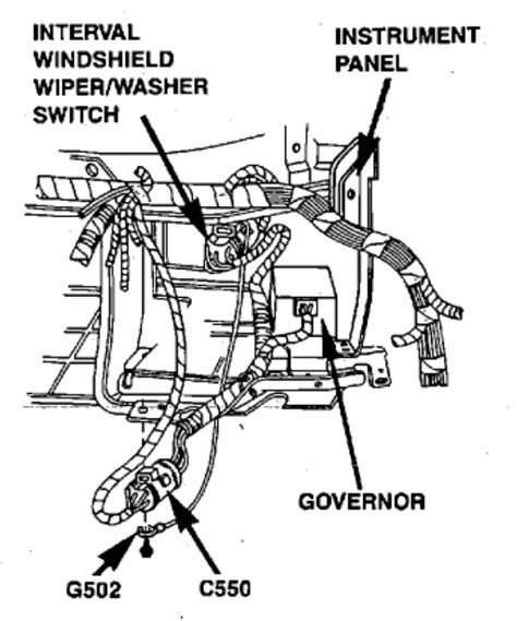 how cars run 1990 ford taurus windshield wipe control my 1990 f 150 wipers run only at high speed and will return to park position no intermittent or