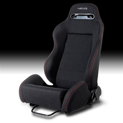 nrg type r seats nrg type r style reclineable seat pair or black
