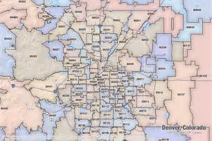 Denver Zip Codes Map by Zip Code Map Denver Co Images
