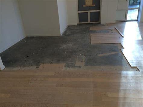 laminaat verven betonvloer verven en laminaat inkorten werkspot