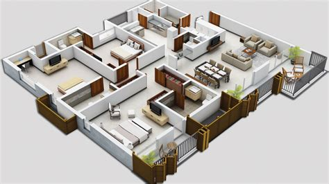 floor plan in 3d ksv developers