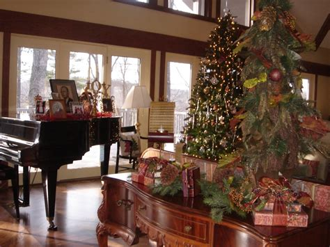 christmas decorations for home interior marvelous piano decorations with human picture on piano