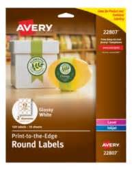 avery template 22807 avery easy peel print to the edge glossy white labels