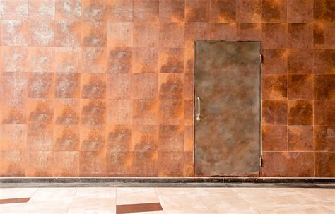 copper walls beautiful uses for functional materials homebuilding