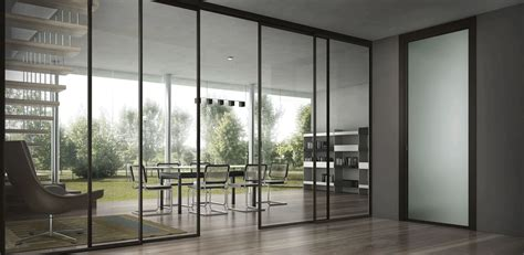 office patio exterior glass sliding door for open home office