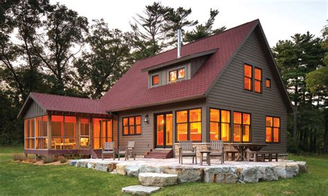trout fishing cabin midwest home magazine