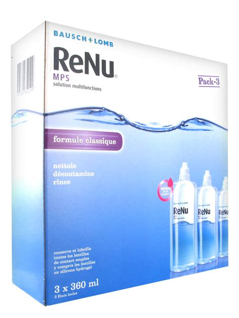 Mps A Multi Purpose Solution 100ml bausch lomb renu mps multi purpose solution 3 x 360ml