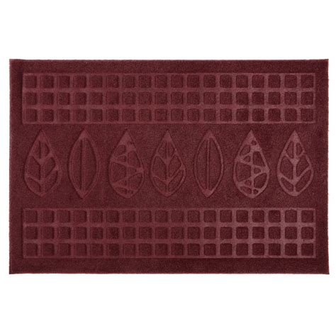Mat For Door Entrance Door Mat With Leaves Leafs Design Rubber Welcome Entrance