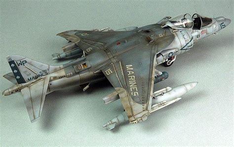 Av 8 Harrier Usmc 1 48 Pro Built Model usmc a v 8b harrier ii unknown scale scale models jets and usmc