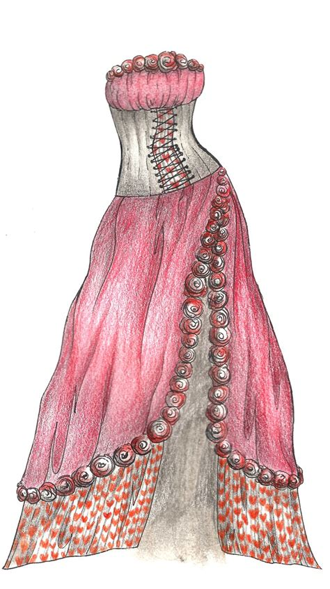 desain for dress queen of hearts dress design by ivory dreams on deviantart