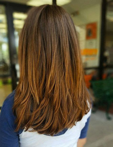shoulder length hair with layers at bottom 25 best ideas about v layered haircuts on pinterest v