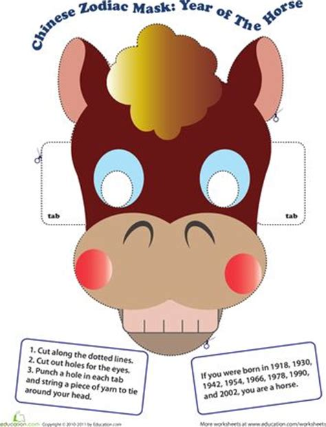 new year mask lesson make a zodiac mask year of the crafts