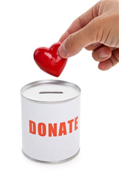 alternative wedding registry idea donate to charity
